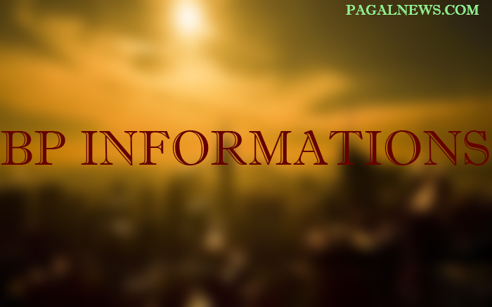 BP INFORMTIONS