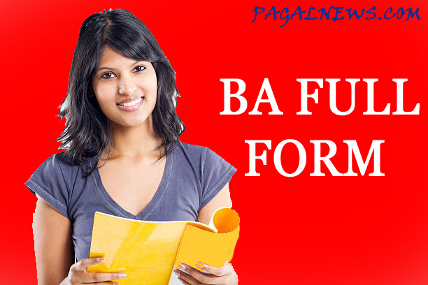 BA FULL FORM IN HINDI GOOD COURSE