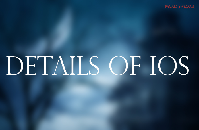 INFORMATION OF IOS