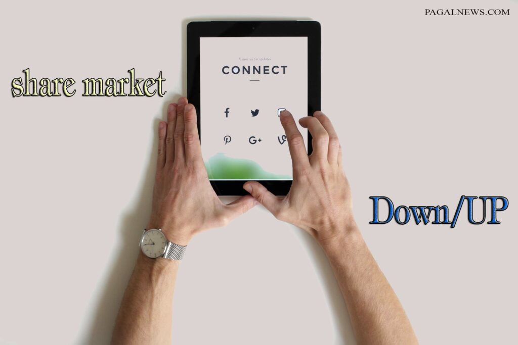 share Bajar me stock market down or up